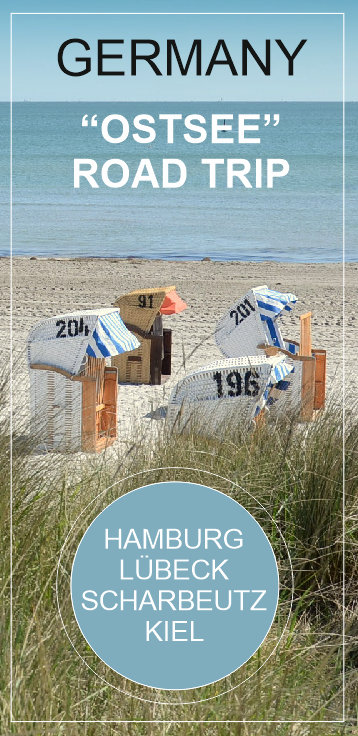 OSTSEE, GERMANY - a short road trip from Hamburg to Lübeck, Scharbeutz und Kiel - perfect for a short Spring getaway
