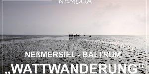 "posebna dozivetja: ""WATTWANDERUNG"" – iz kraja Neßmersiel na otok Baltrum"