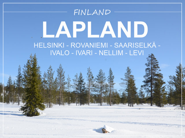 Winter road trip Filnland Lapland Helsinki what to see and do