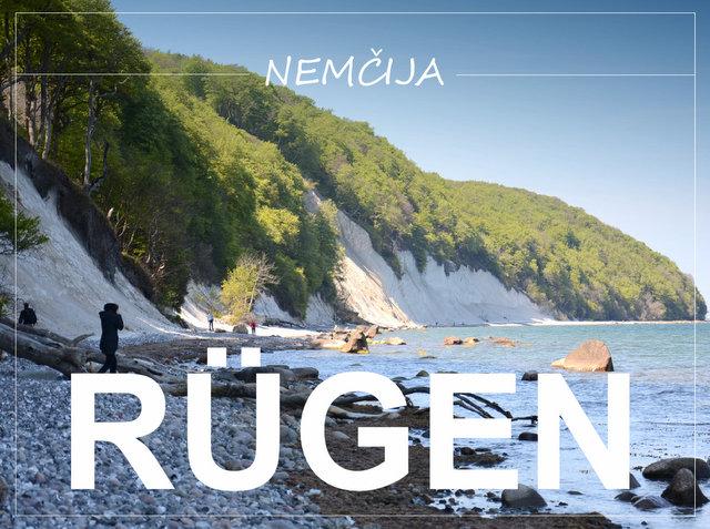 otok Rügen severna Nemčija balska obala potopis potovanje road trip