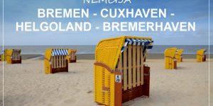 SEVERNA NEMČIJA road trip | Bremen – Cuxhaven – Helgoland – Bremerhaven