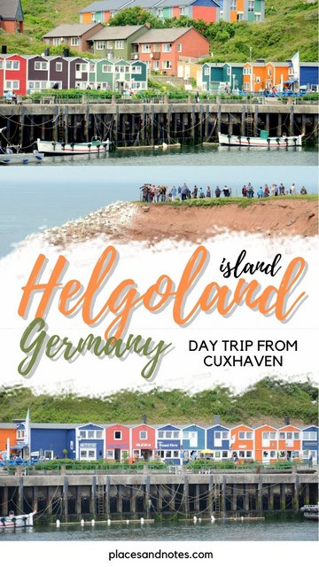 Day trip from Cuxhaven to Helgoland island Germany
