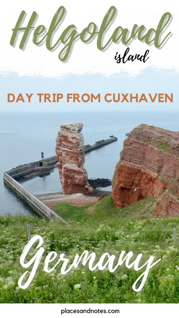 Helgoland island Germany day trip from Cuxhaven