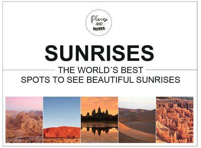 World´s best sunrise spots