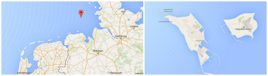 helgoland map