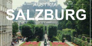 a weekend in: SALZBURG