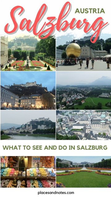 Weekend city trip to Salzburg Austria - what to see and do