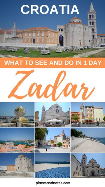 Zadar, Croatia what to see and do in 1 day