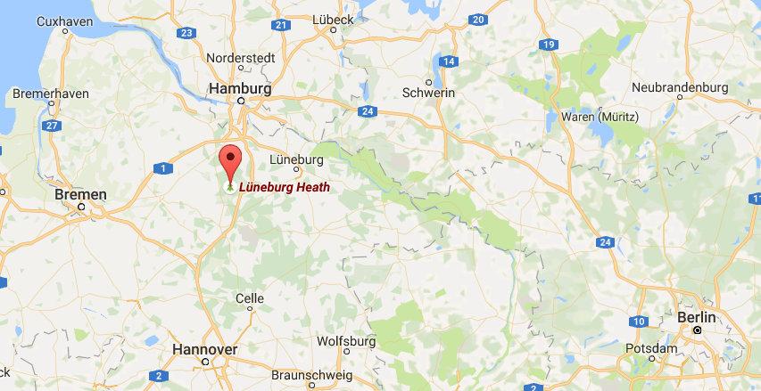 lüneburger heide map