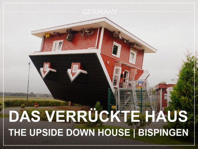 The upside down house Bispingen Germany