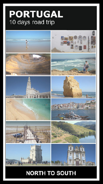 Portugal 10 days road trip what to see and do