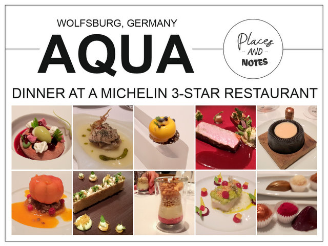 Dinner at a Michelin 3-Star Restaurant Aqua Wolfsburg Germany