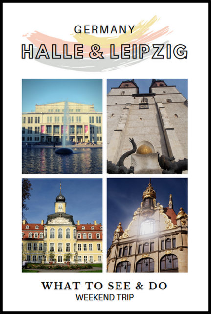 Halle & Leipzig Germany what to see and do