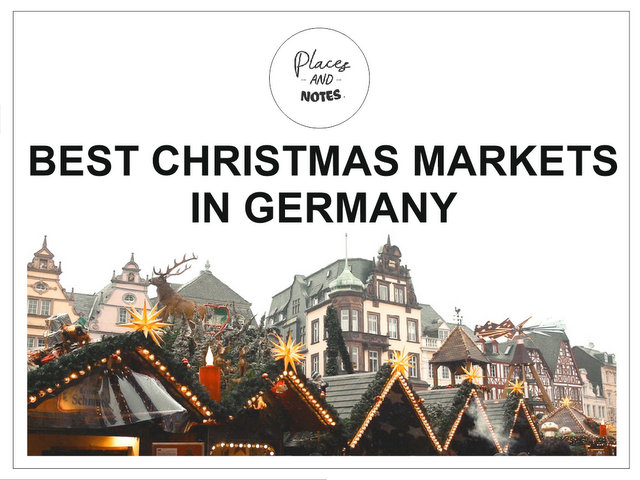 Best Christmas markets in Germany travel December