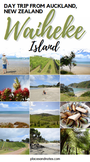 Day trip from Auckland New Zealand to Waiheke island