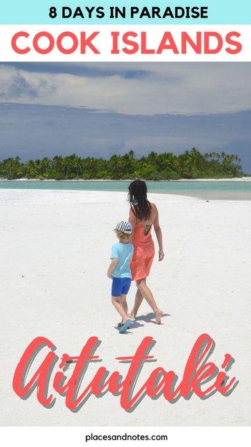 Aitutaki Cook islands paradise dream holiday