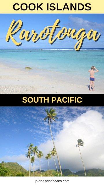 Rarotonga Cook islands South Pacific holidays