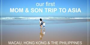 najino prvo MAMI & SIN POTOVANJE v Azijo