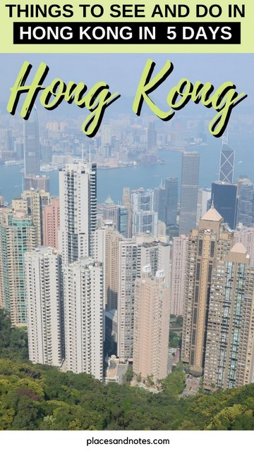 Hong Kong what to see and do in 5 days
