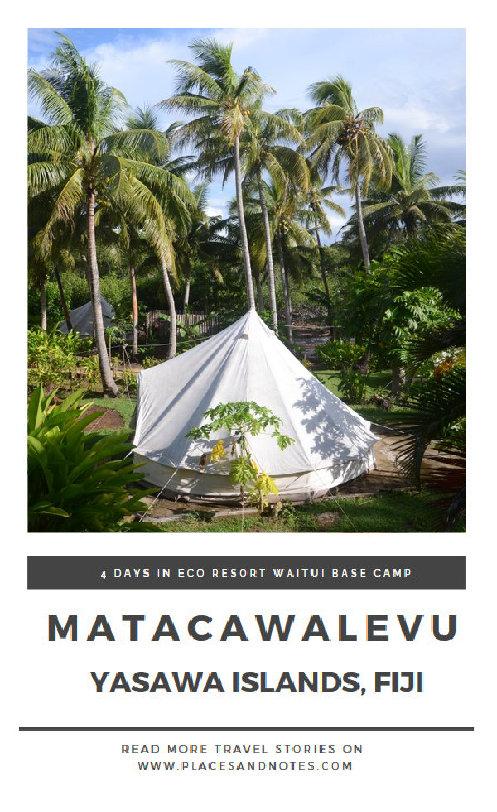 Matacawalevu island, Yasawa islands Fiji_staying at Waitui Base Camp