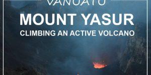 VANUATU | Mt. Yasur volcano