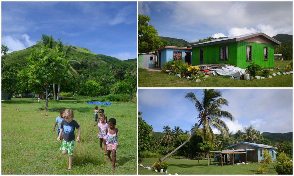 Naviti island Yasawa islands Fiji village