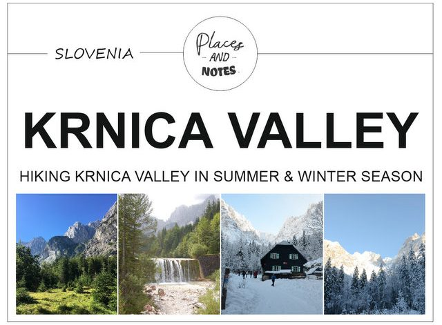 Hiking Krnica Valley Kranjska Gora Slovenia