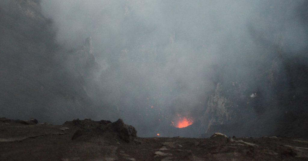 Mt.Yasur volcano Vanuatu Tanna island