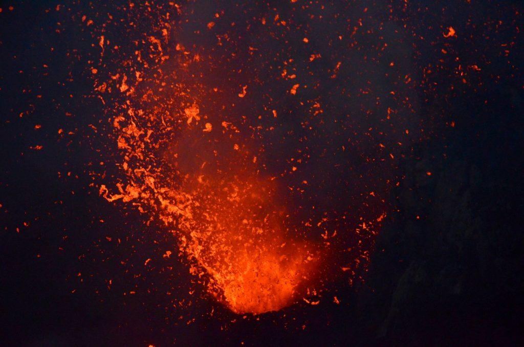Mt.Yasur volcano Tanna island Vanuatu