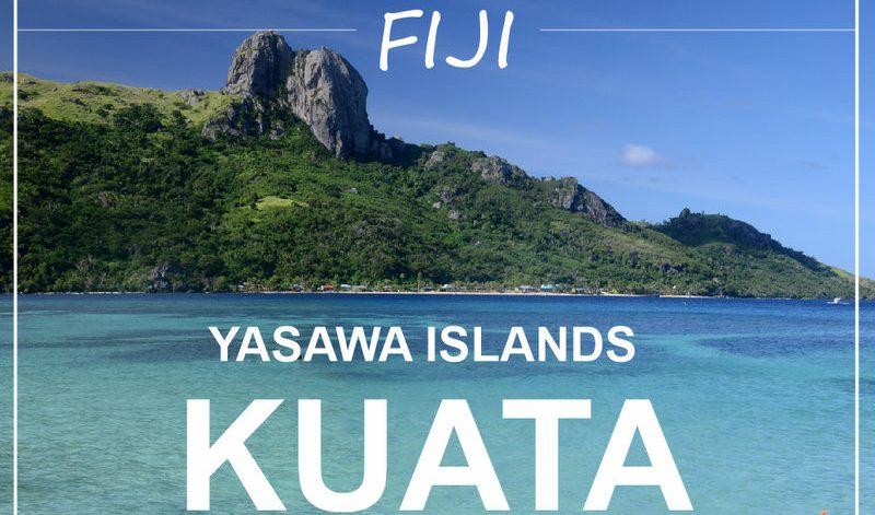 Fiji Yasawa islands Kuata island