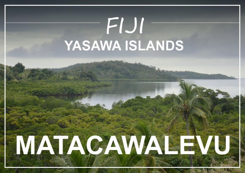 Fiji Yasawa islands Matacawalevu