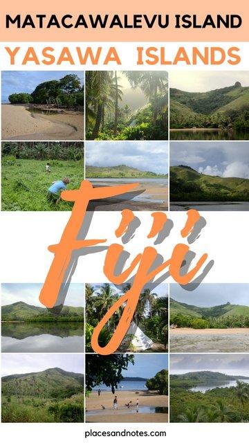 Matacawalevu island Fiji Yasawa flyer boat trip