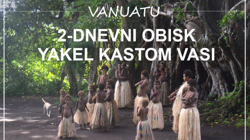 Yakel Kastom vas otok Tanna Vanuatu