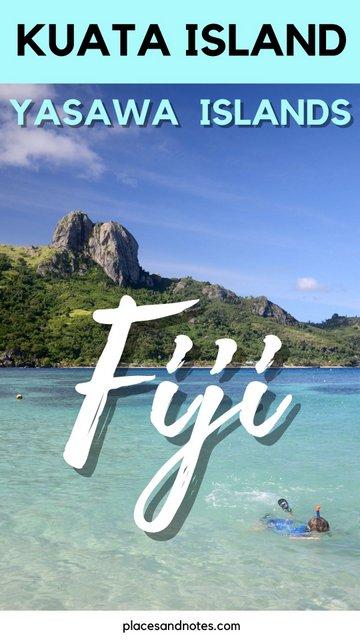 travelling South Pacific Fiji Kuata island Yasawa flyer