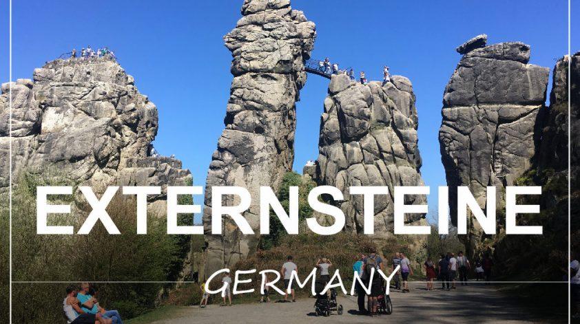 Externsteine Germany Nemcija