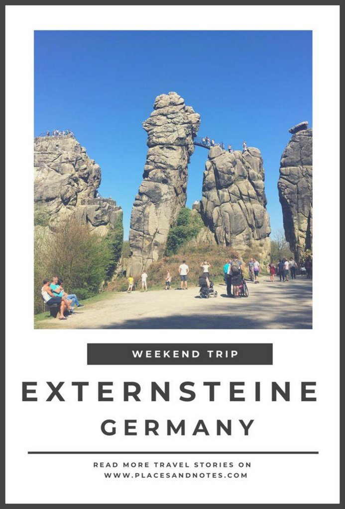 Externsteine rock formations Germany