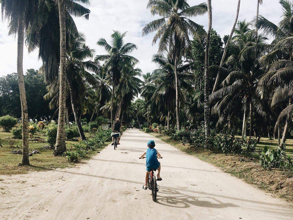 Kolesarjenje po otoku La Digue