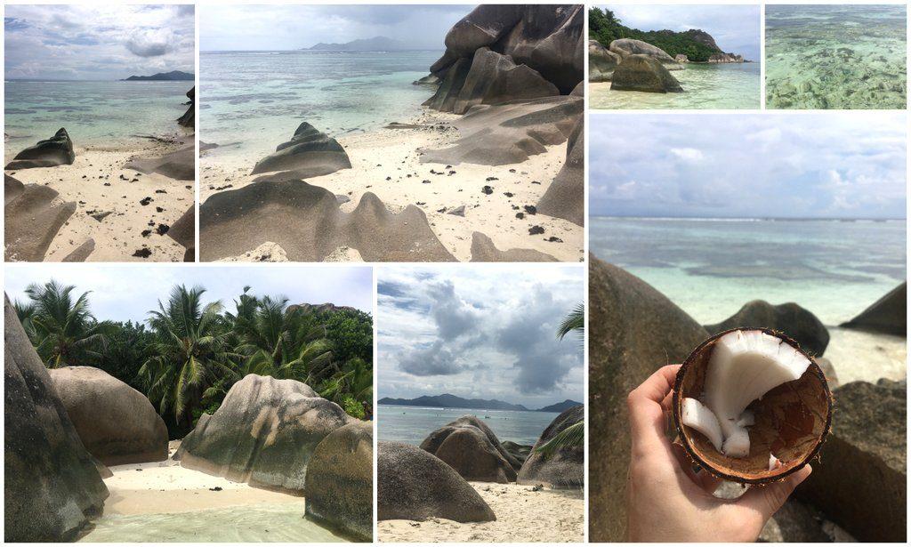 Anse source d´Argent La Digue island Seychelles