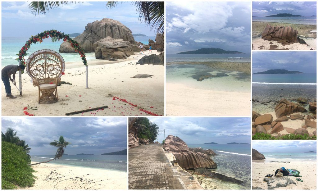 Seychelles La Digue Beach