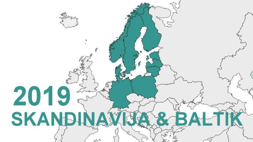 Skandinavija in Baltske dezele road trip r