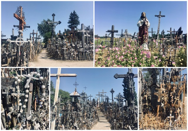 Siauliai Hill of crosses Lithuania Litva
