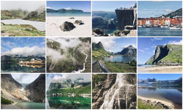 Norveska norway road trip potopis potovanje