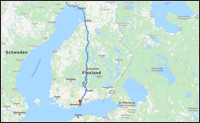 finland finska road trip potopis potovanje