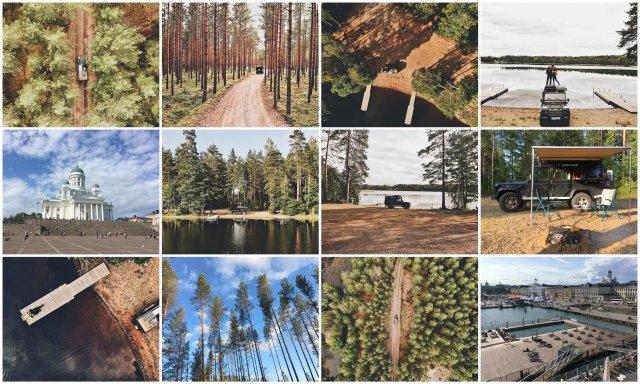 finska potopis potovanje road trip finland