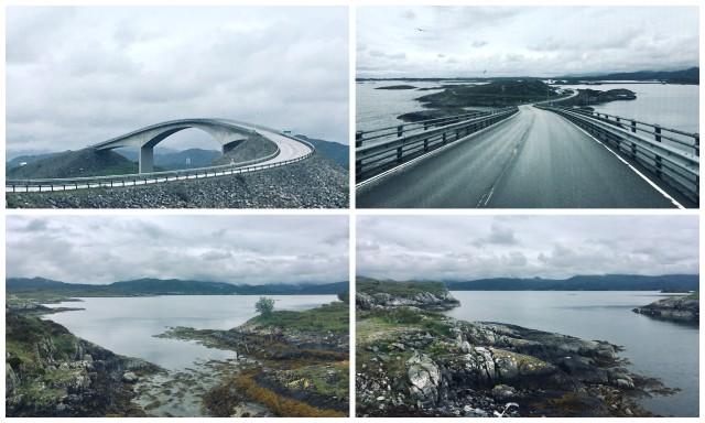 atlantic road norway norveska