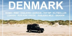 DENMARK | 4 days road trip from south to north