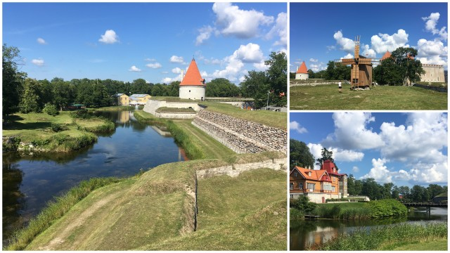kuressaare castle saaremaa island Estonia