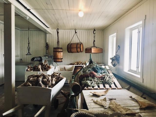 A i Lofoten Norway Fish museum