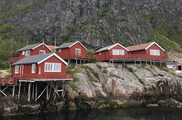 A i Lofoten Norway