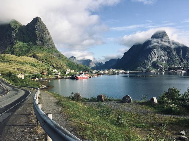 Reine Lofoten Norway Norveska